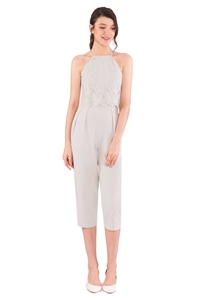 Picture of Daferuq Jumpsuit (Light Grey)