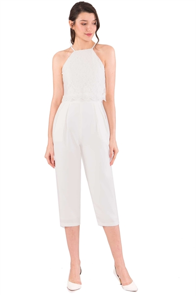 Picture of Daferuq Jumpsuit (White)