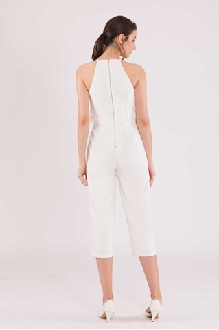 Show details for Daferuq Jumpsuit (White)