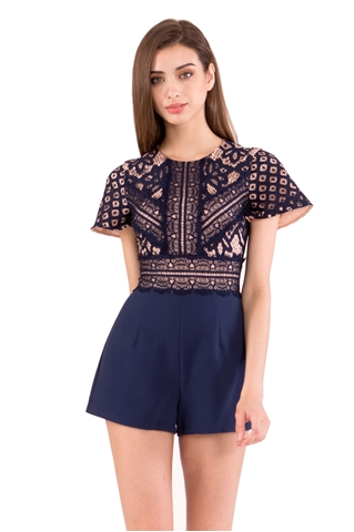 Picture of Deshorez Romper (Navy)