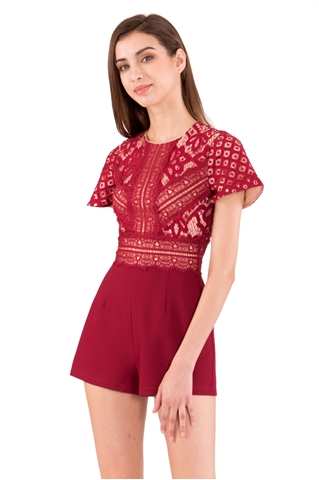 Picture of Deshorez Romper (Red)