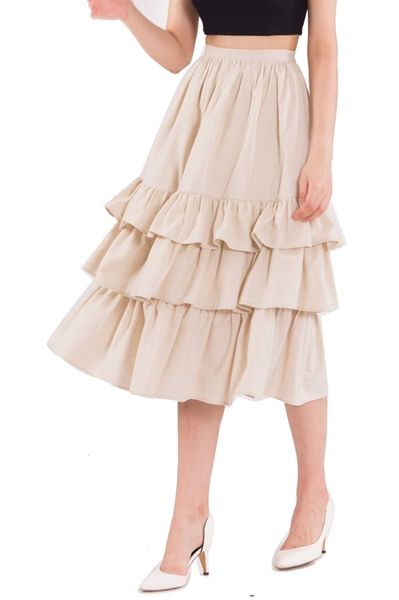 Picture of Duflores Skirt (Khaki)