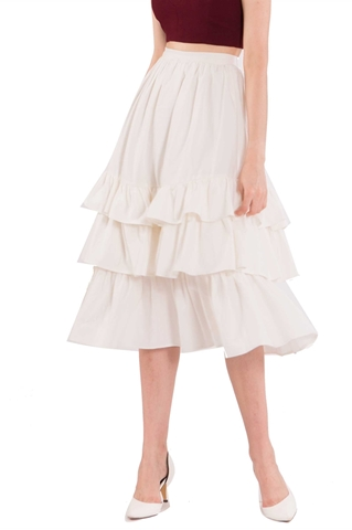 Picture of Duflores Skirt (White)