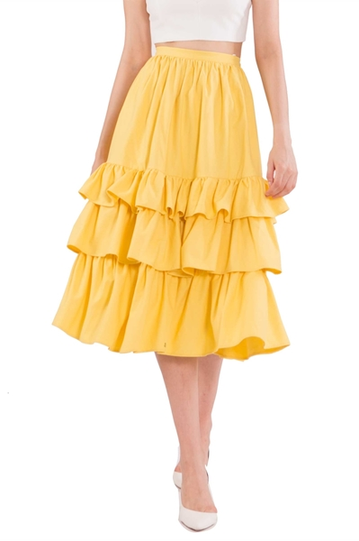 Picture of Duflores Skirt (Yellow)