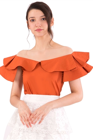 Picture of Darixist Top (Rust Orange)