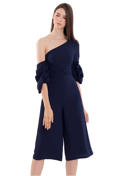 Picture of Dijutaris Jumpsuit Cullotes (Navy)