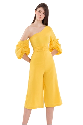 Picture of Dijutaris Jumpsuit Cullotes (Yellow)