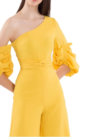 Show details for Dijutaris Jumpsuit Cullotes (Yellow)