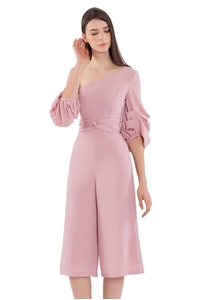 Picture of Dijutaris Jumpsuit Cullotes (Pale Pink)