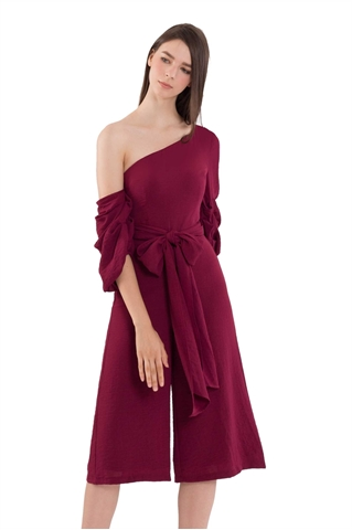Picture of Dijutaris Jumpsuit Cullotes (Maroon)