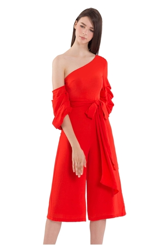 Picture of Dijutaris Jumpsuit Cullotes (Tangerine)