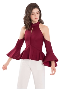 Picture of Diufeny Top (Maroon)
