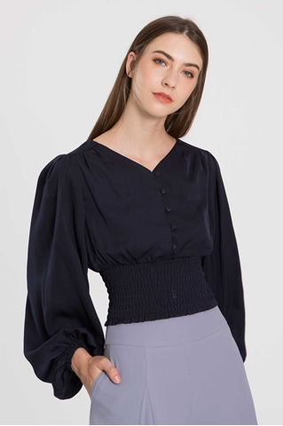 Show details for Detasia Top (Navy)