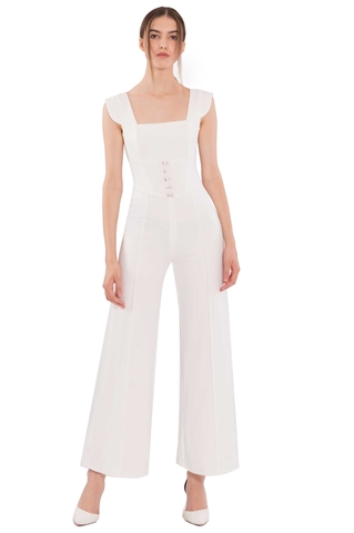 Picture of Difernix Jumpsuit (White)
