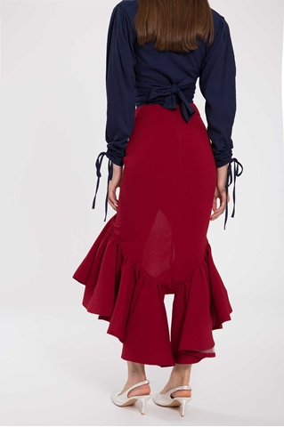 Show details for Daguaxu Skirt (Red)