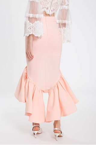 Show details for Daguaxu Skirt (Peach)