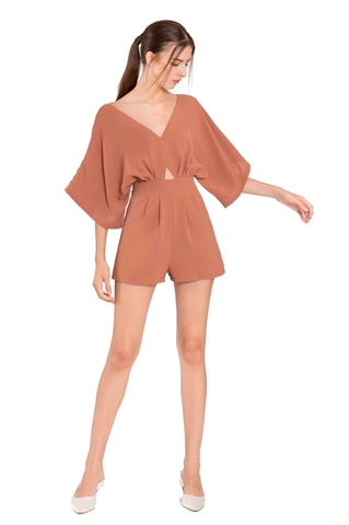 Picture of Dalater Romper (Brown)