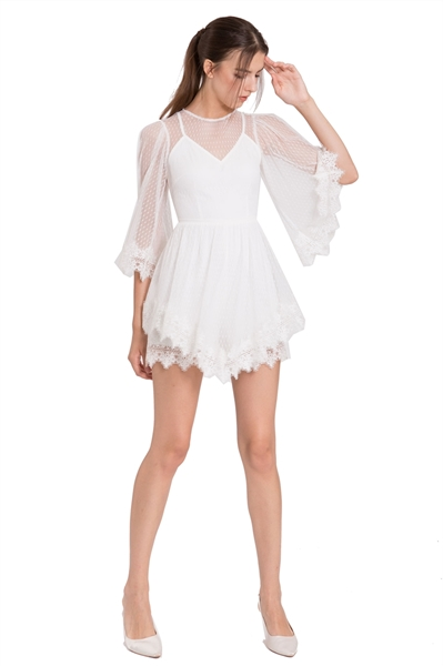 Picture of Dohanih Romper (White)