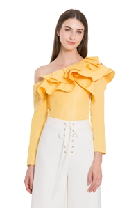 Picture of Denita Top (Yellow)