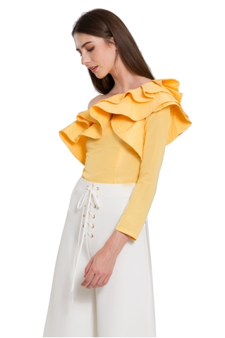 Show details for Denita Top (Yellow)
