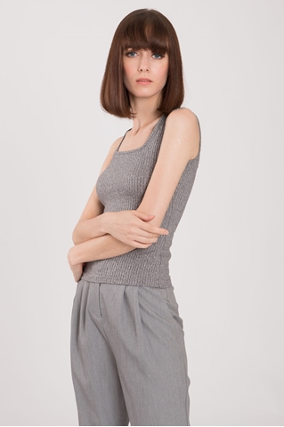 Show details for Detaf Top (Grey)