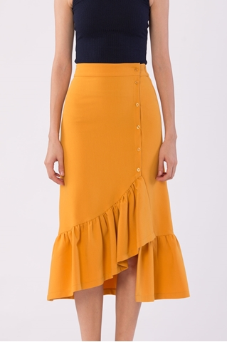 Show details for Dakataq Skirt (Mustard)