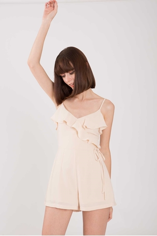 Show details for Daryea Romper (Nude)