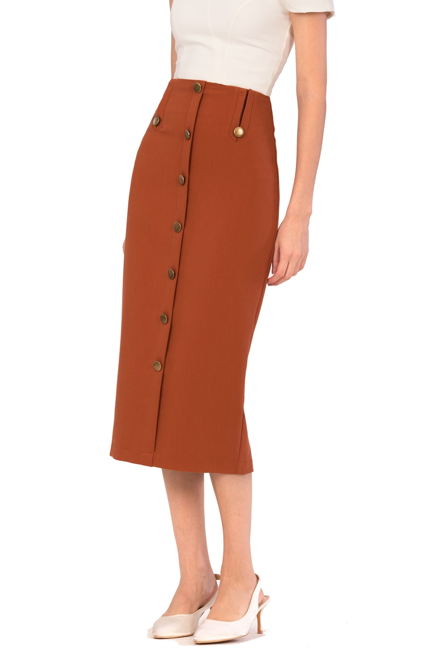 Picture of Derkate Skirt (Brown)