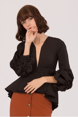 Show details for Dovalia Top (Black)