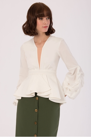Show details for Dovalia Top (White)