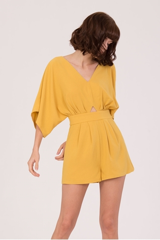 Show details for New Dalater Romper (Yellow)