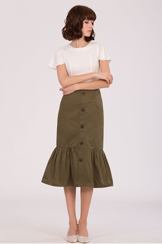 Show details for Daxcir Skirt (Army Green)