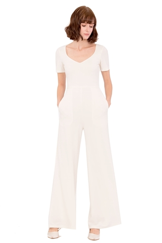 Picture of Duferhik Jumpsuit (White)
