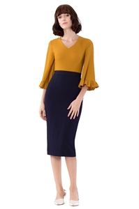 Picture of Donnajurta (Mustard+Navy)