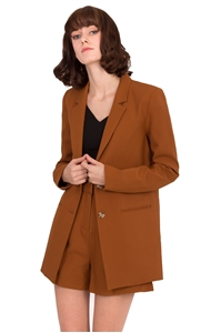 Picture of Daxzara Blazer (Brown)