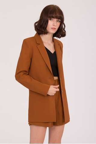 Show details for Daxzara Blazer (Brown)