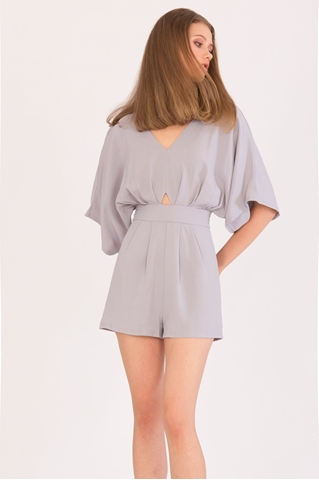 Show details for New Dalater Romper (Greyish Mauve)