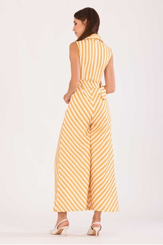 Show details for Dukafetaw Jumpsuit (Yellow)