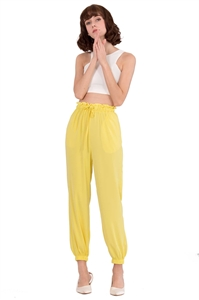 Picture of Detayio Pants (Powder Yellow)