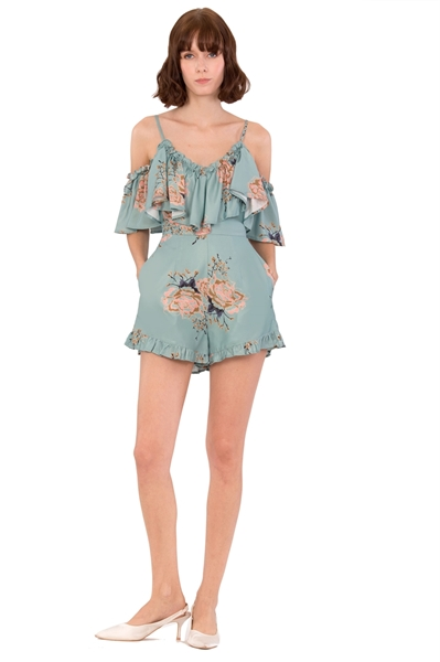 Picture of Daferite Romper (Pale Green)