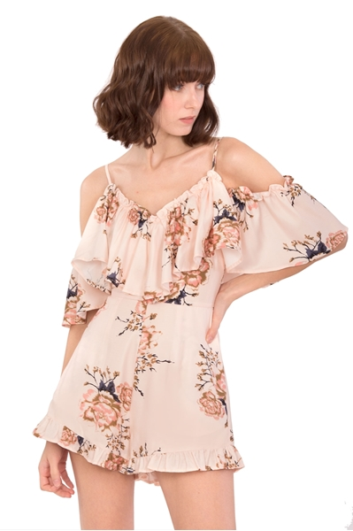 Picture of Daferite Romper (Peach)