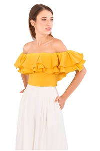 Picture of Doxeqa Top (Yellow)