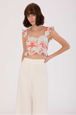 Show details for Duntaliva Top (Tangerine)