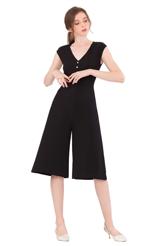 Picture of Doferfiy Jumpsuit Cullotes (Black)