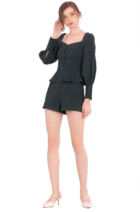 Picture of Denituriol Romper (Dark Green)