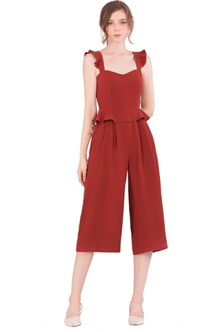 Picture of Diutol Jumpsuit Cullotes (Brown)