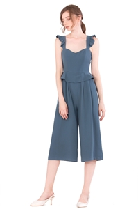 Picture of Diutol Jumpsuit Cullotes (Denim Blue)