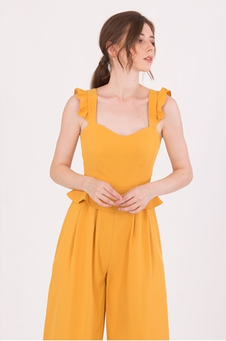 Show details for Diutol Jumpsuit Cullotes (Mustard)