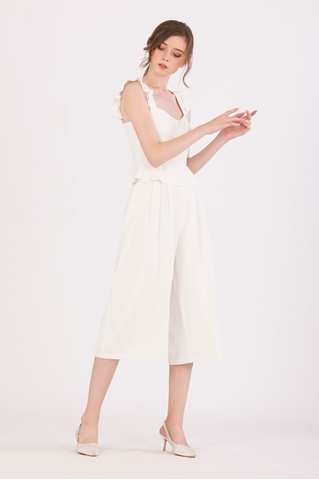 Show details for Diutol Jumpsuit Cullotes (White)