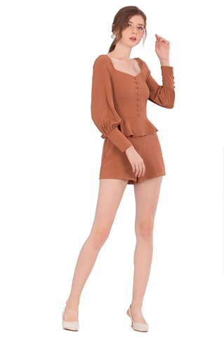Picture of Denituriol Romper (Brown)